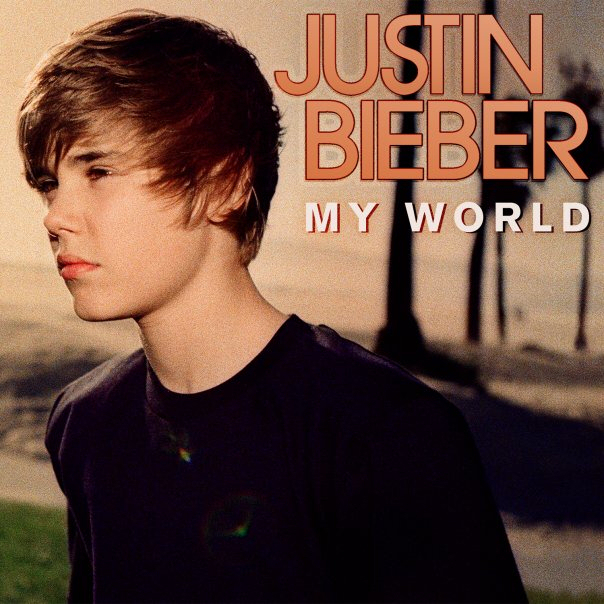 justin bieber my world album. Justin#39;s new CD quot;My Worldquot; is